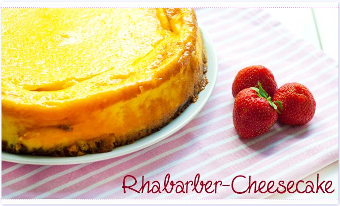 Rhababer-Cheesecake