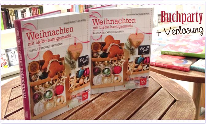 Buchparty für Weihnachten mit Liebe handgemacht in der Buchhandlung Stories!