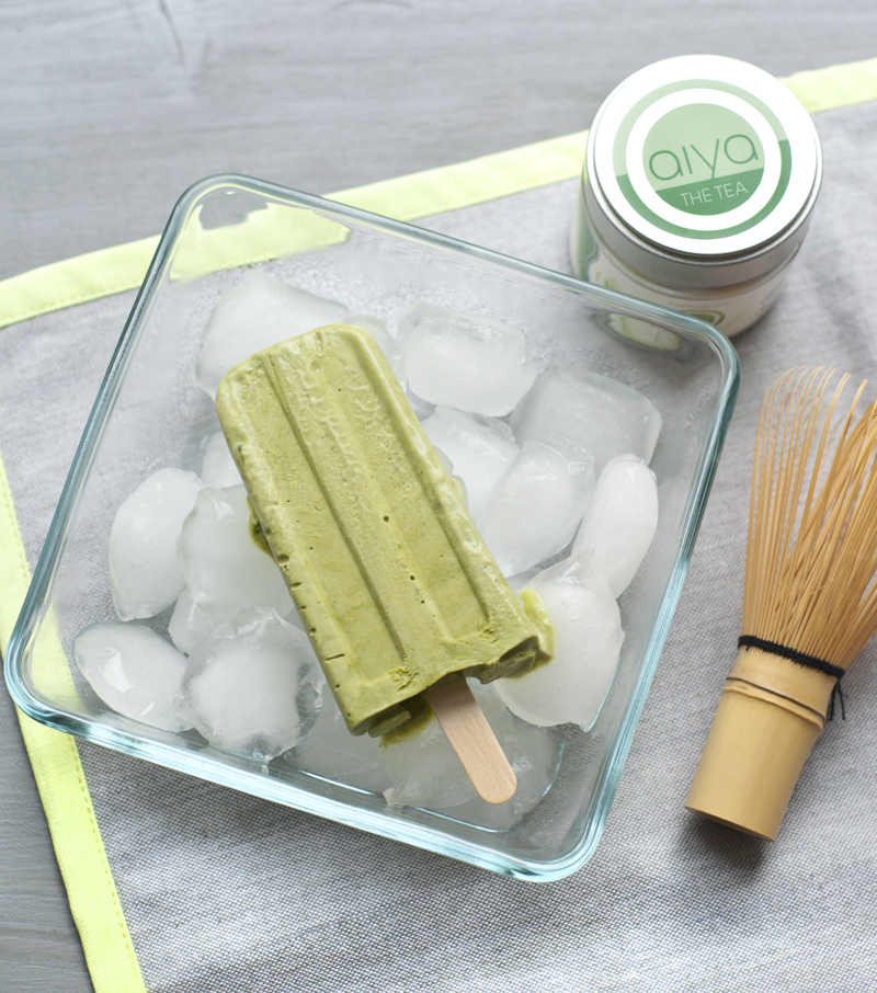 matcha popsicles oder tee eis am stil serendipity. Black Bedroom Furniture Sets. Home Design Ideas
