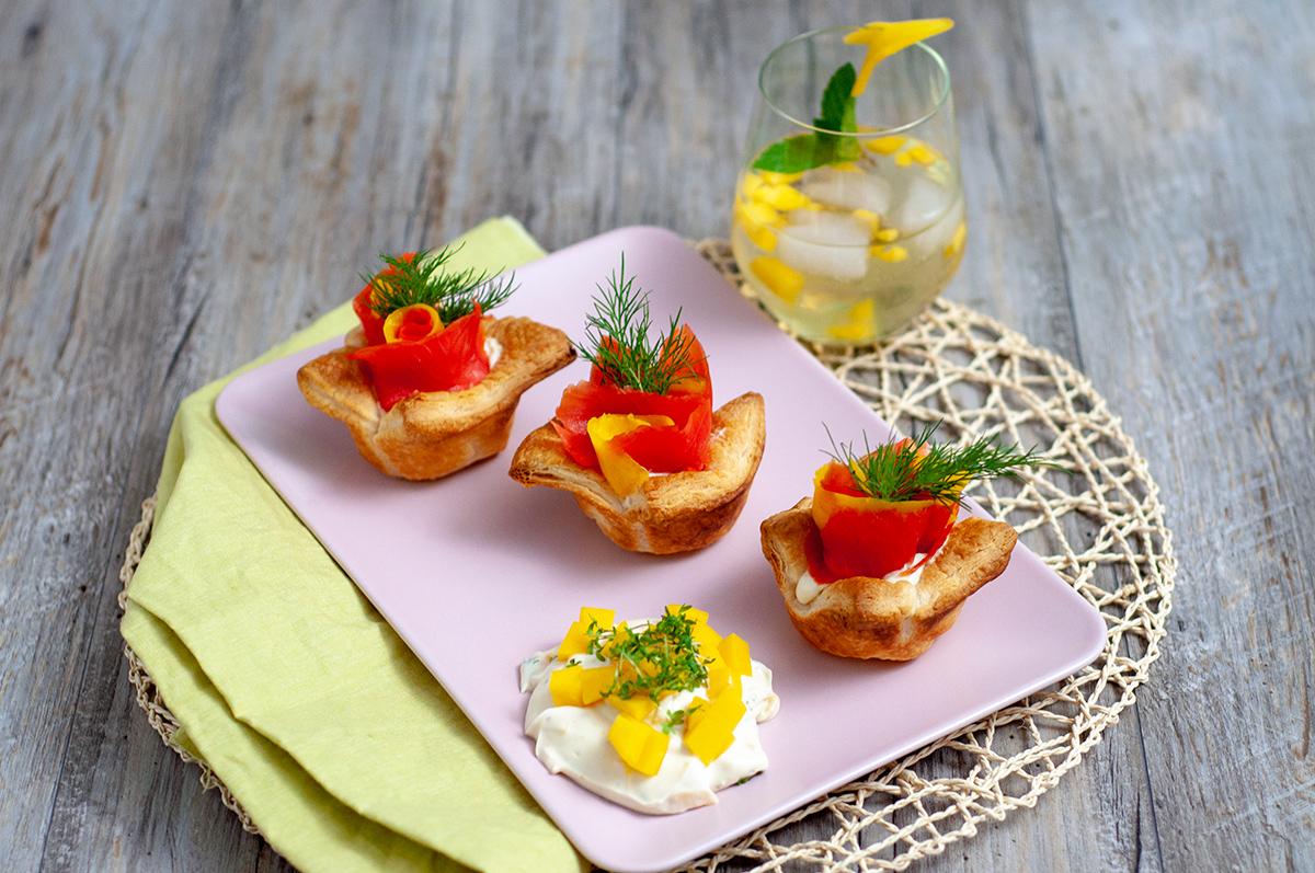 Sommerküche Zum Vorbereiten : Leichte sommerküche mit lachs teil lachs mango muffins